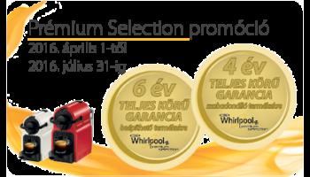 Whirlpool Premium Selection garancia kiterjesztés
